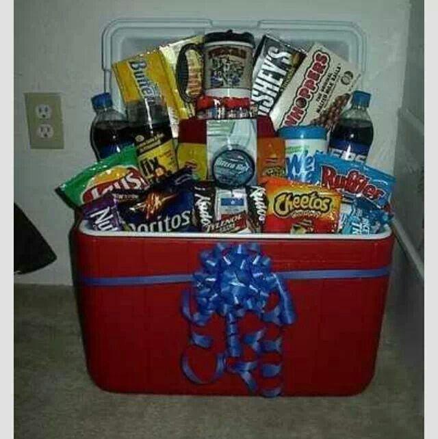 Cooler Gift Quot Basket Quot Gift Ideas Homemade Gift Baskets