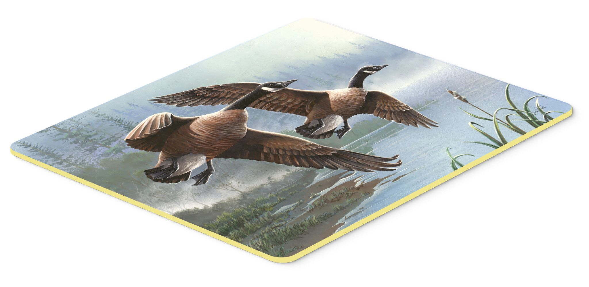 Geese on the Wing Kitchen or Bath Mat 24x36 PTW2054JCMT