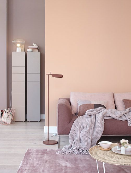 Inspirations d co rose poudr home sweet home for Inspiration deco interieur