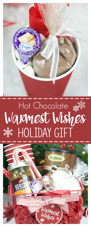 Hot Chocolate Gift Basket for Christmas   Merry Christmas: Gifts ...
