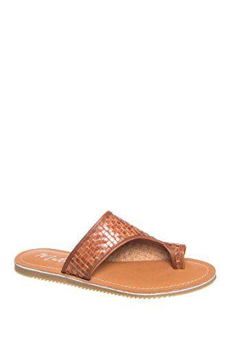 Matisse Womens Davie Flat Sandal Cognac 9 US9 M US >>> Tried it!