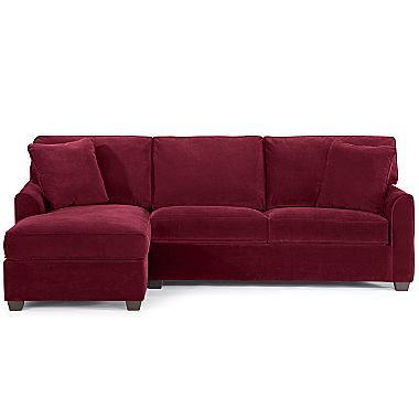 Jc Penney Possibilities 2 Piece Sectional In Coffee 1 100 Open A Card