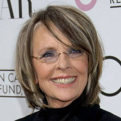 Diane Keaton, Diane Keaton Hairstyles, Highlights Diane Keaton At The 24th