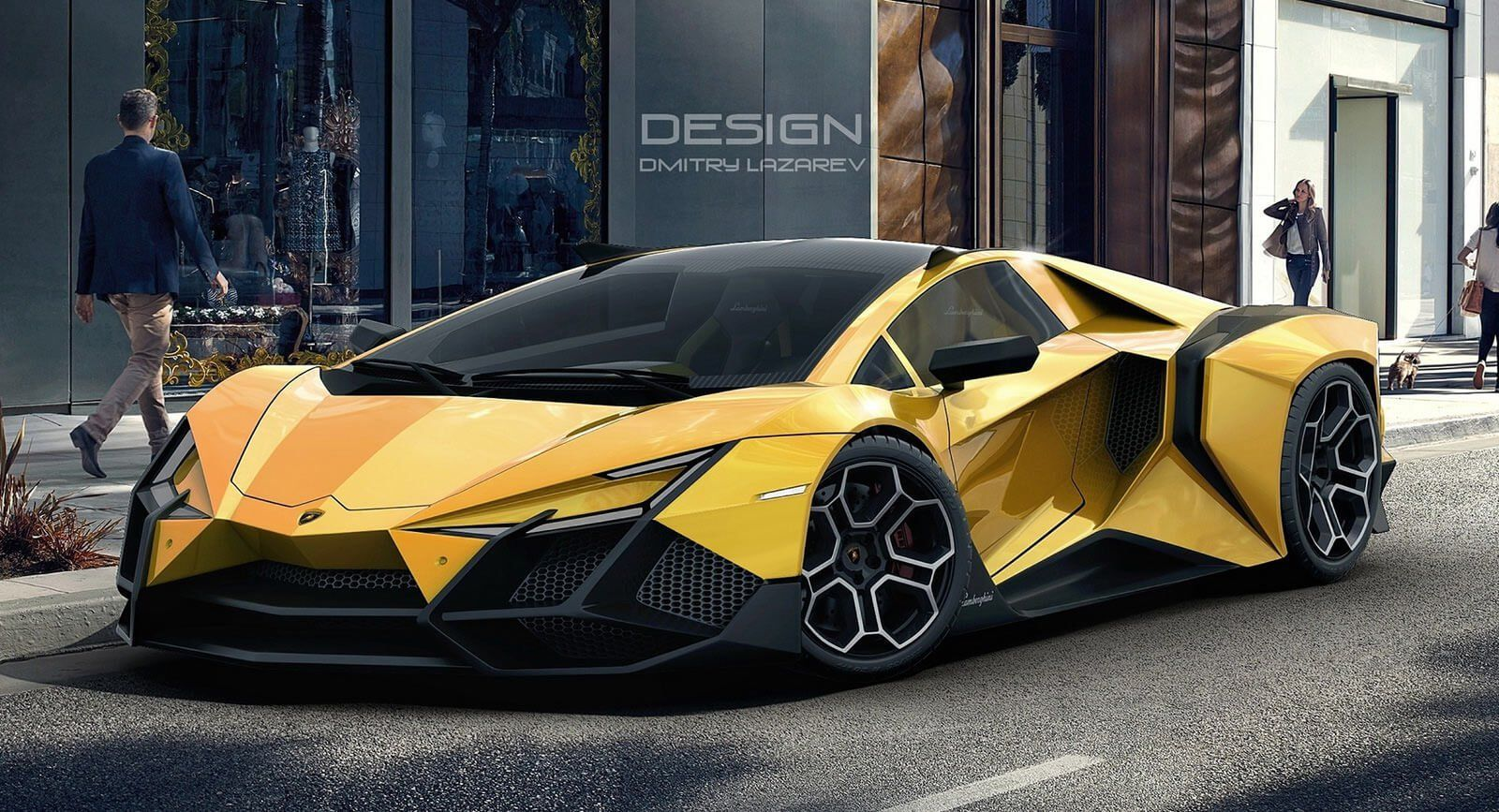 The Lamborghini Forsennato Would Be A Proper Raging Bull If It