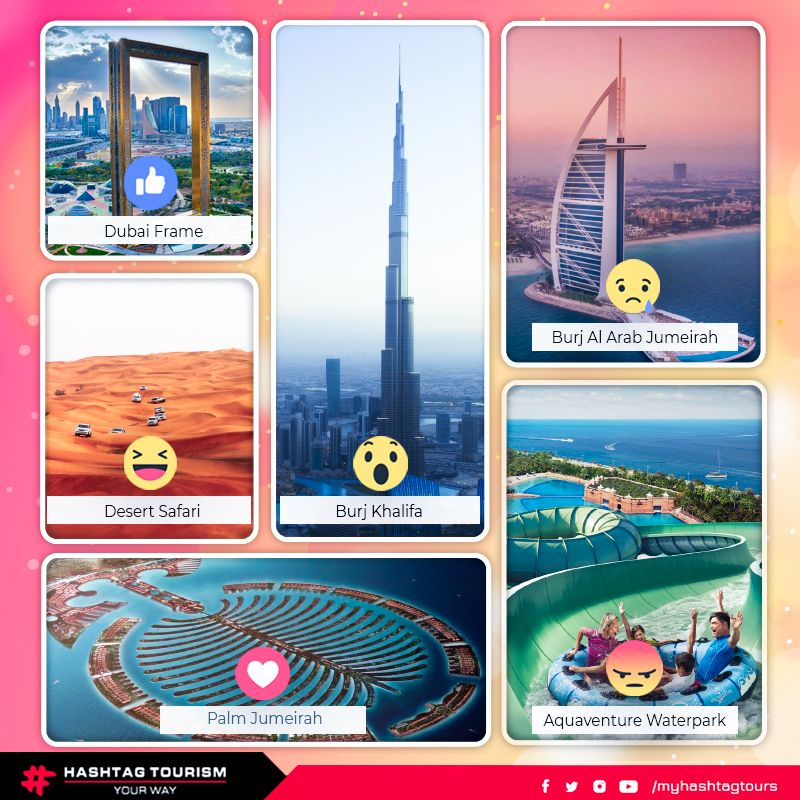 96e85f3a2ce14 React an emoji to tell us about your favorite place in  Dubai! Let s ...