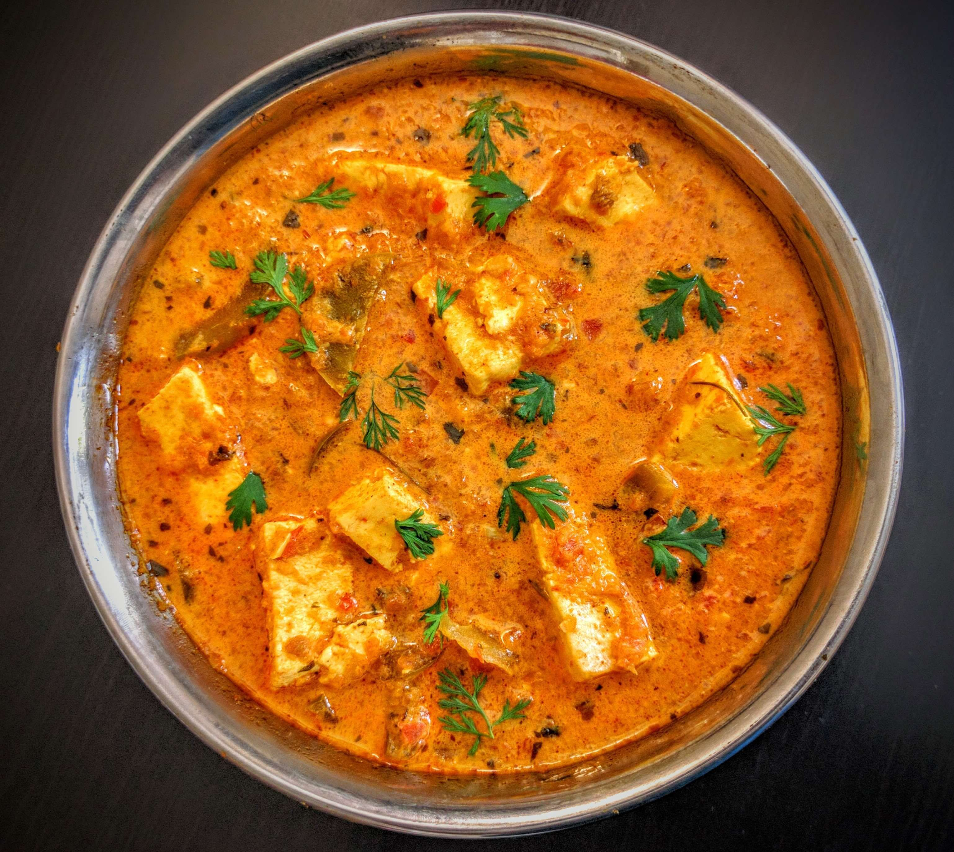 Kadai Paneer Gravy Recipe Indian food recipes, Paneer