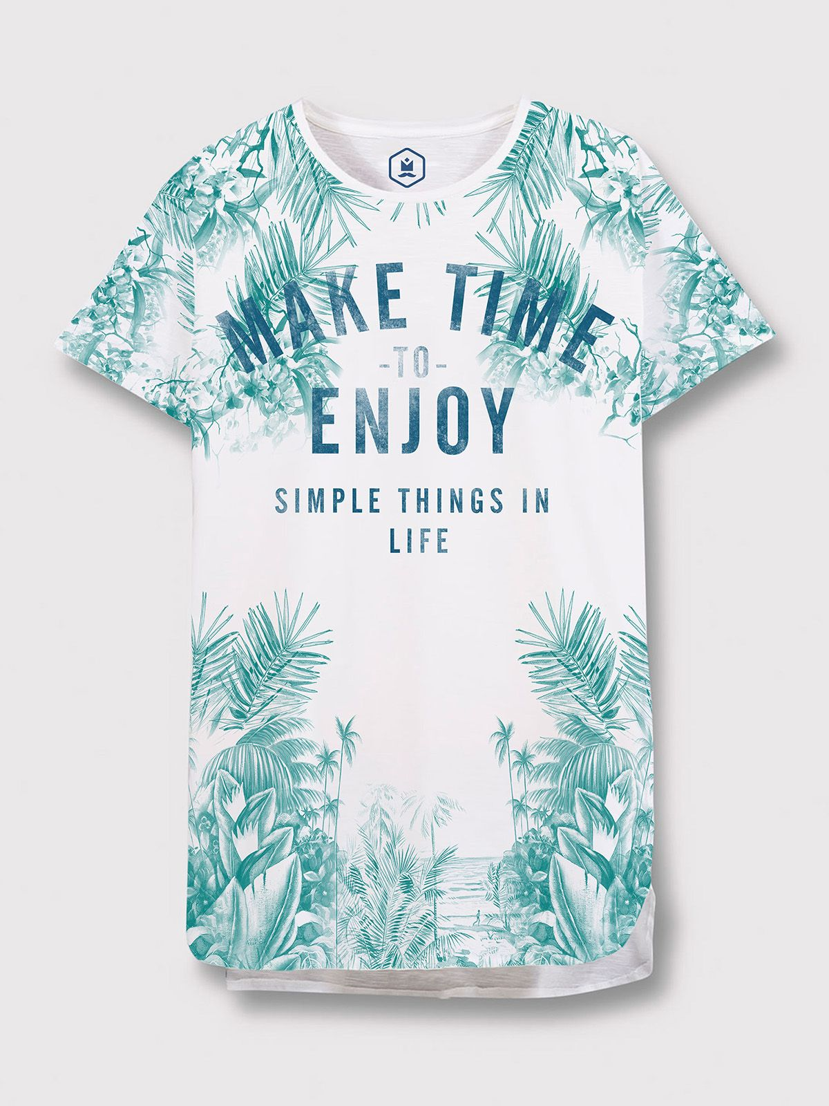 415653fb67f3 MAKE TIME TEE on Behance