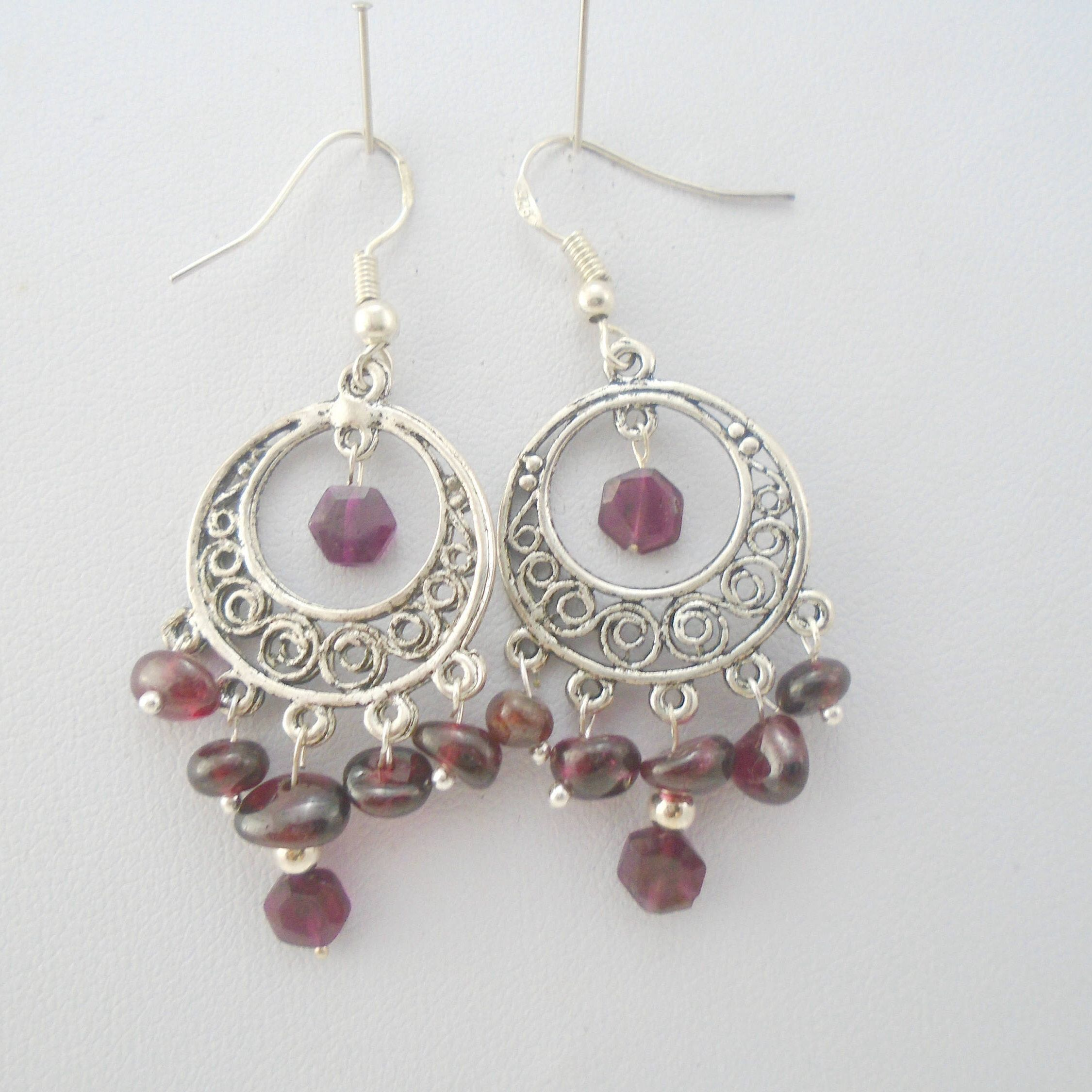 in gold with diamonds tw yellow jewellery jewelry garnet earrings
