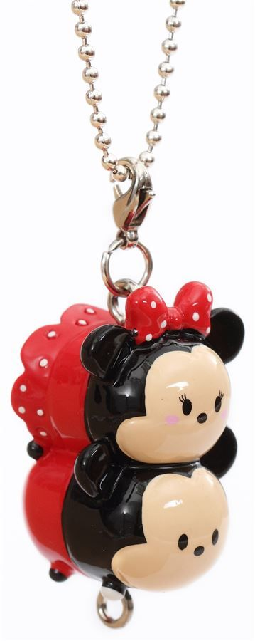 Mini Disney Mickey Minnie Mouse charm cellphone strap