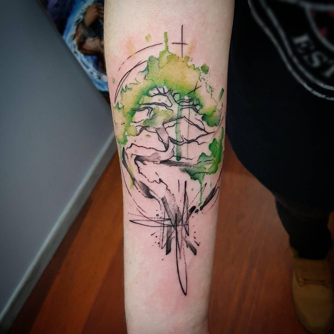 Watercolor Tree Watercolor Tattoo Tree Watercolor Tattoo