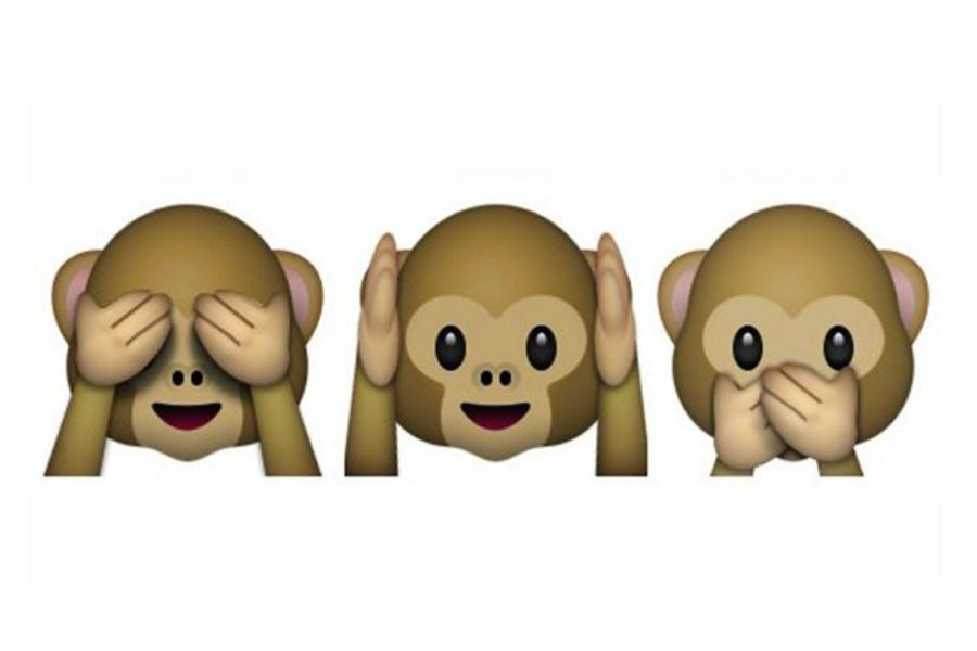 Ignoring Your Kids Surprise It Makes You A Good Parent Monkey Emoji Monkey Emoji Wallpapers Cute Panda Wallpaper