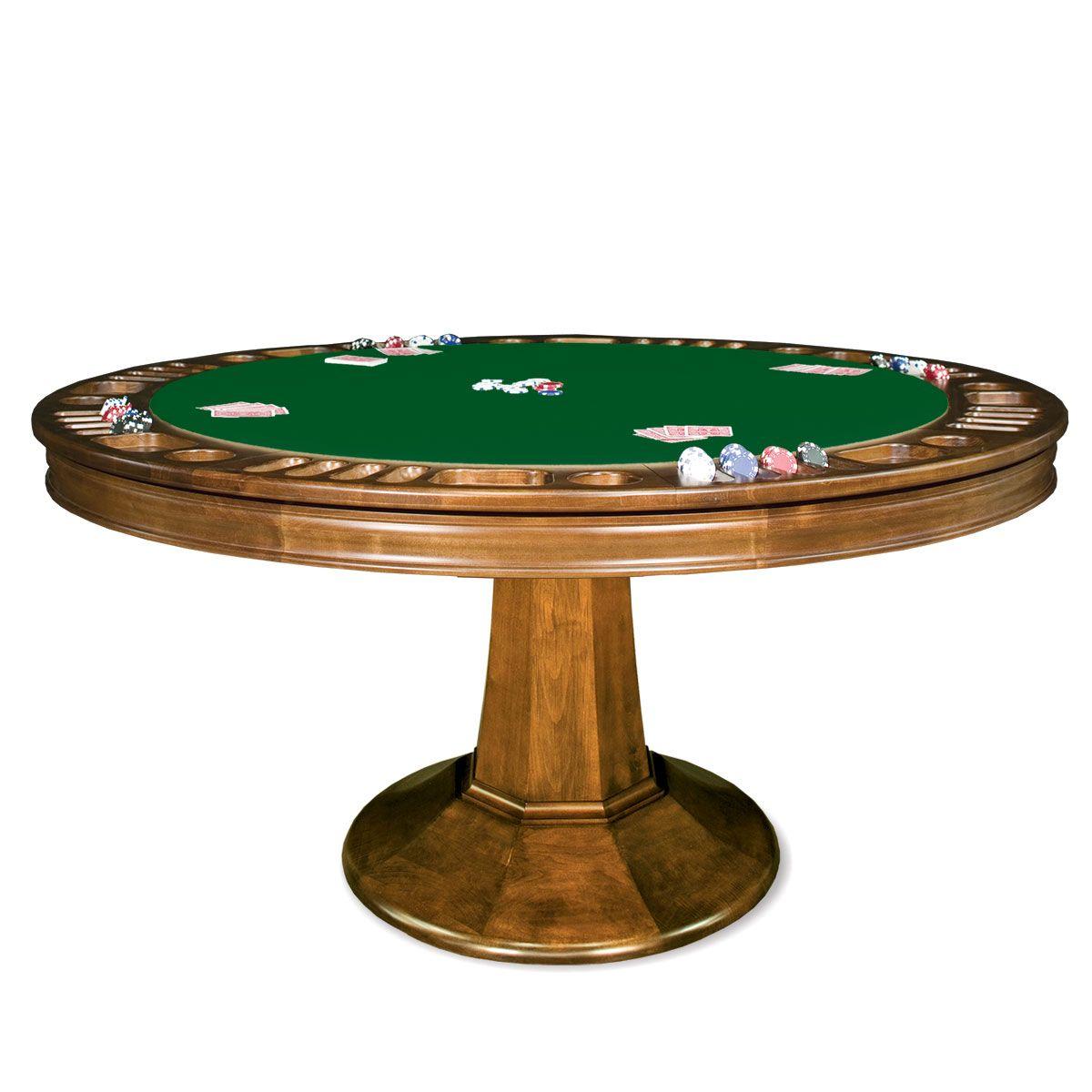 Taliesin Reversible Poker Table Poker Table Round Poker Table