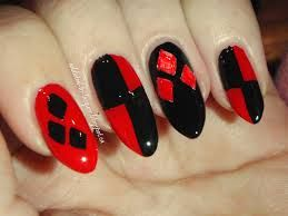 harley quinn nails - Google Search