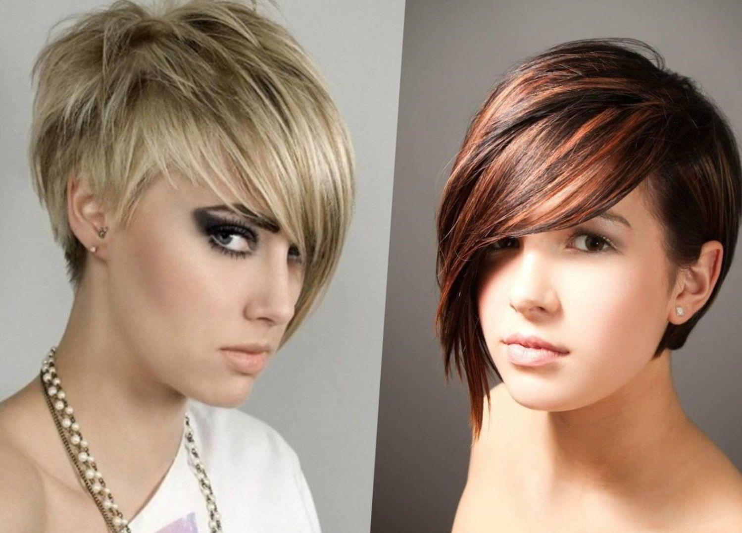 Модные укладки на короткие волосы 2019 фото в 2019 г ...