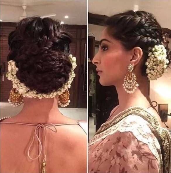 Indian Braids Hairstyle: #1 Top Indian Saree Hairstyle For Long Hair