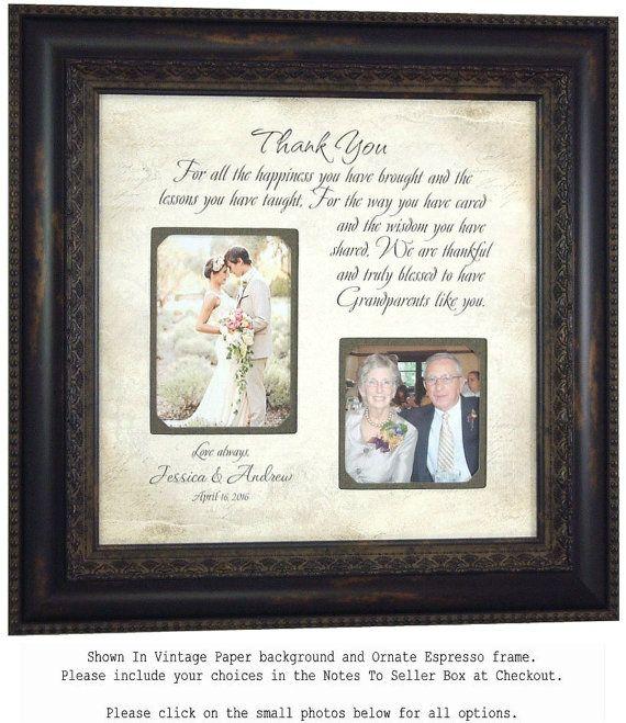 Personalized Grandparents Picture Frame, Nana, Papa, Grandma ...
