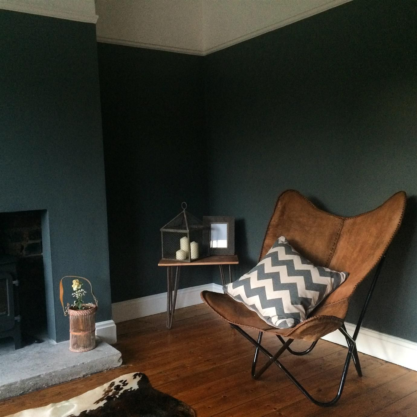 Farrow And Ball Pale Blue Bedroom: Walls In Farrow & Ball Down Pipe