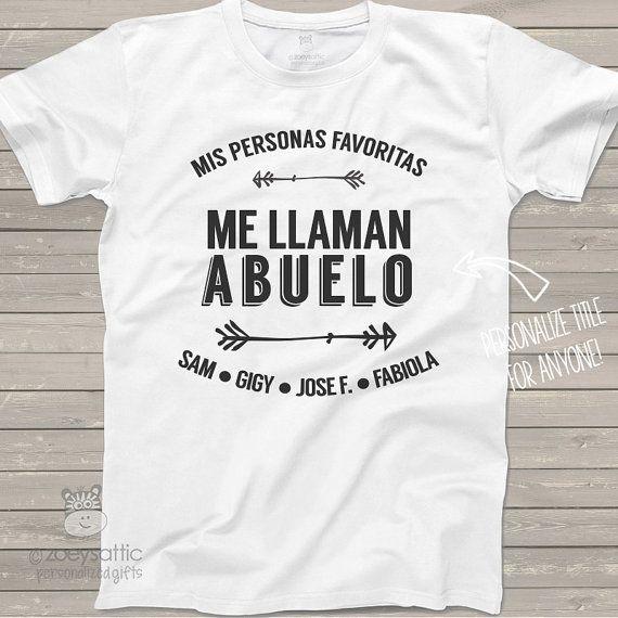 mirada detallada nueva selección al por mayor ABUELO shirt - mis personas favoritas me llaman abuelo ...