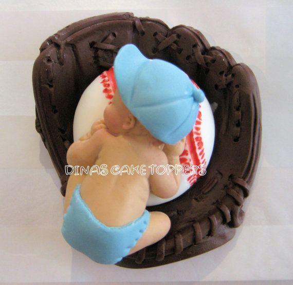 Baseball Theme Baby Shower Cake Topper, 1st Birthday/smash