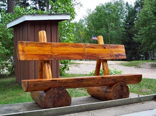 Rustic Benches Rustic Log Bench Seats We Have Received