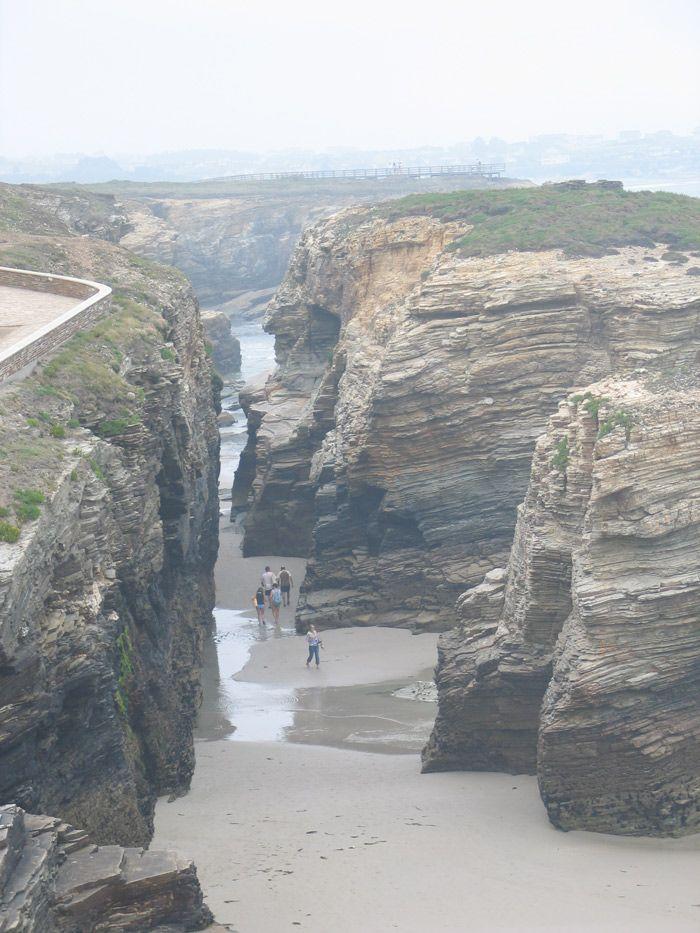 ruta foz playa de las catedrales