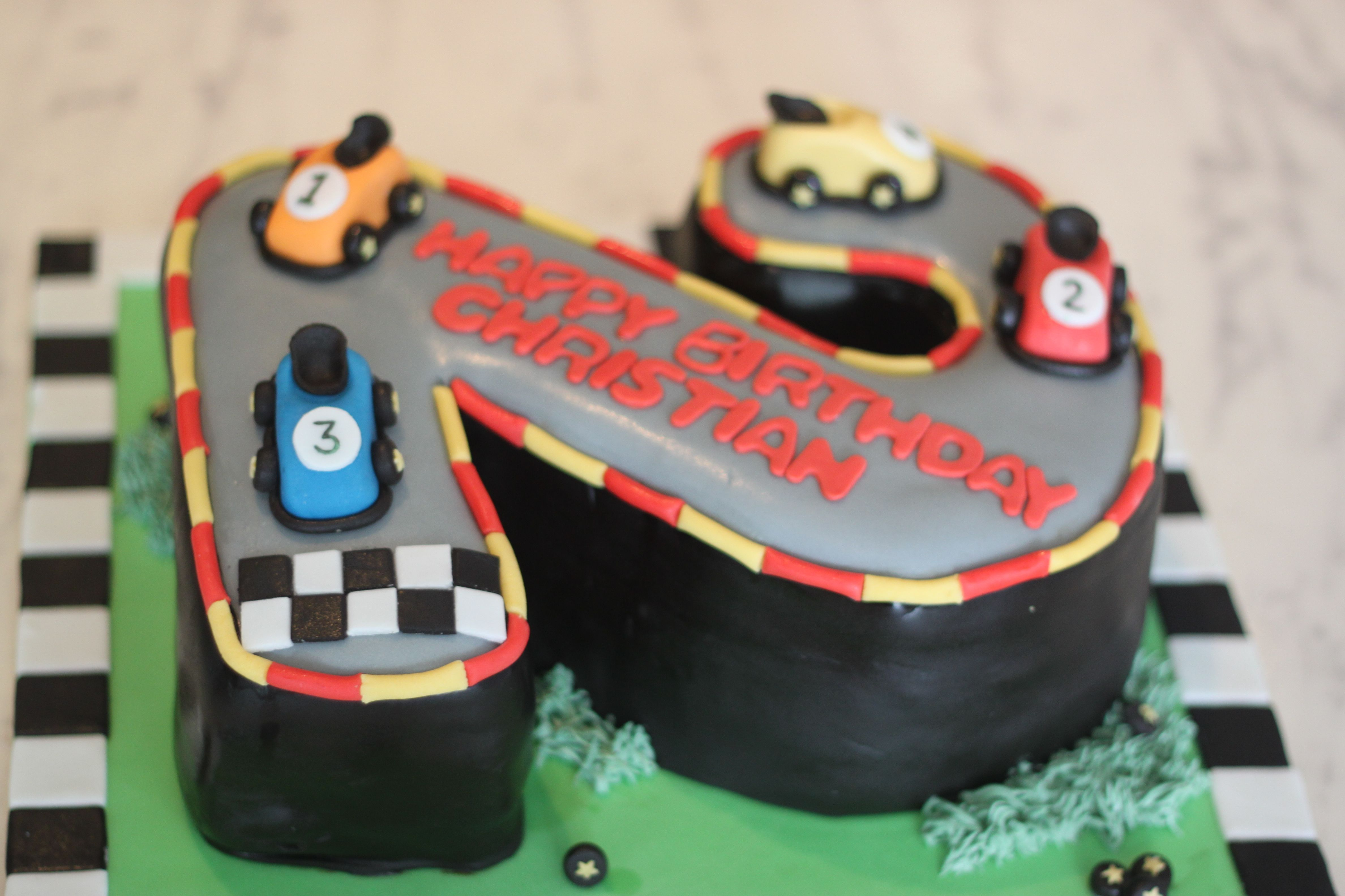 No  Race Car Cake Cars Car Cakes And Racing - Easy car birthday cake