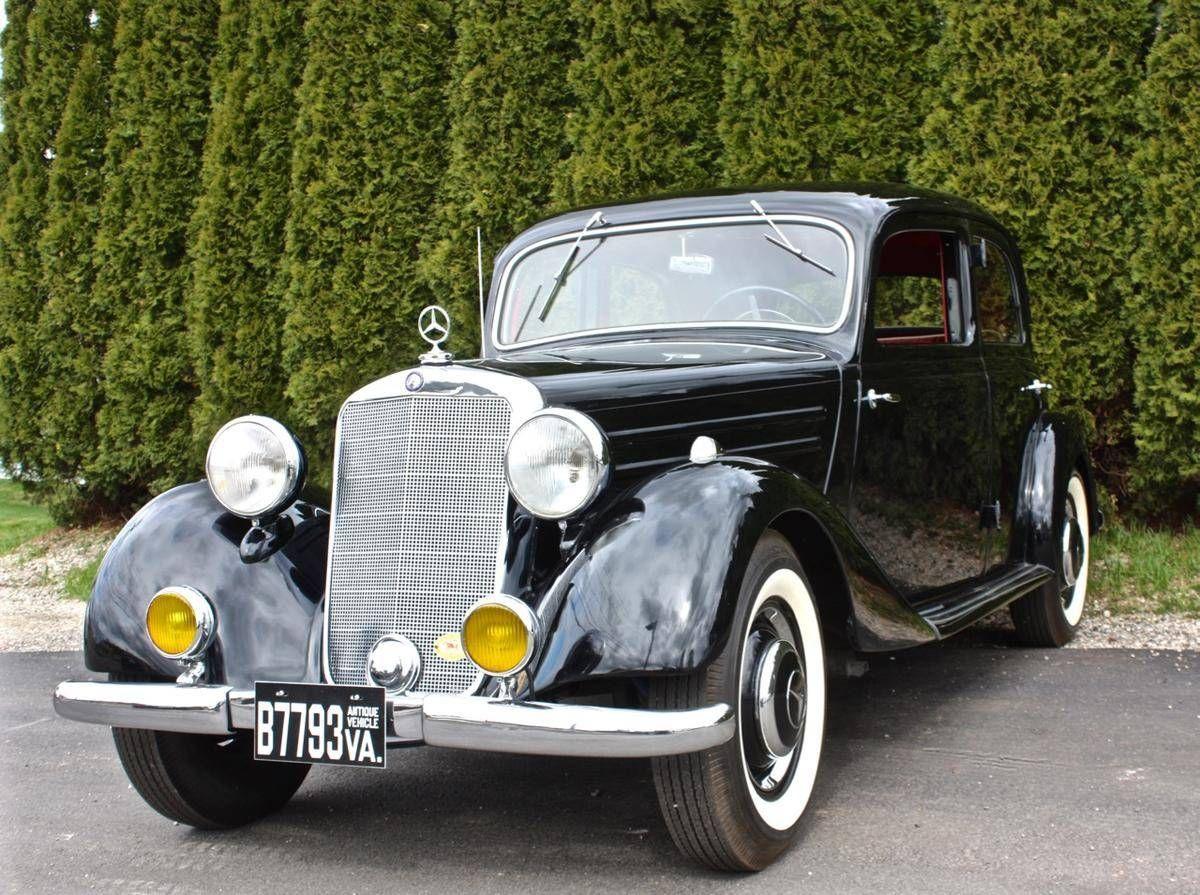 1952 Mercedes-Benz 170Va | Mercedes Benz | Pinterest | Mercedes benz ...