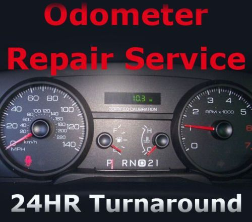 Ford Crown Victoria Speedometer Cluster Odometer Display Repair Service