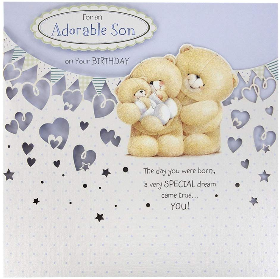 Hallmark forever friends birthday card for son precious