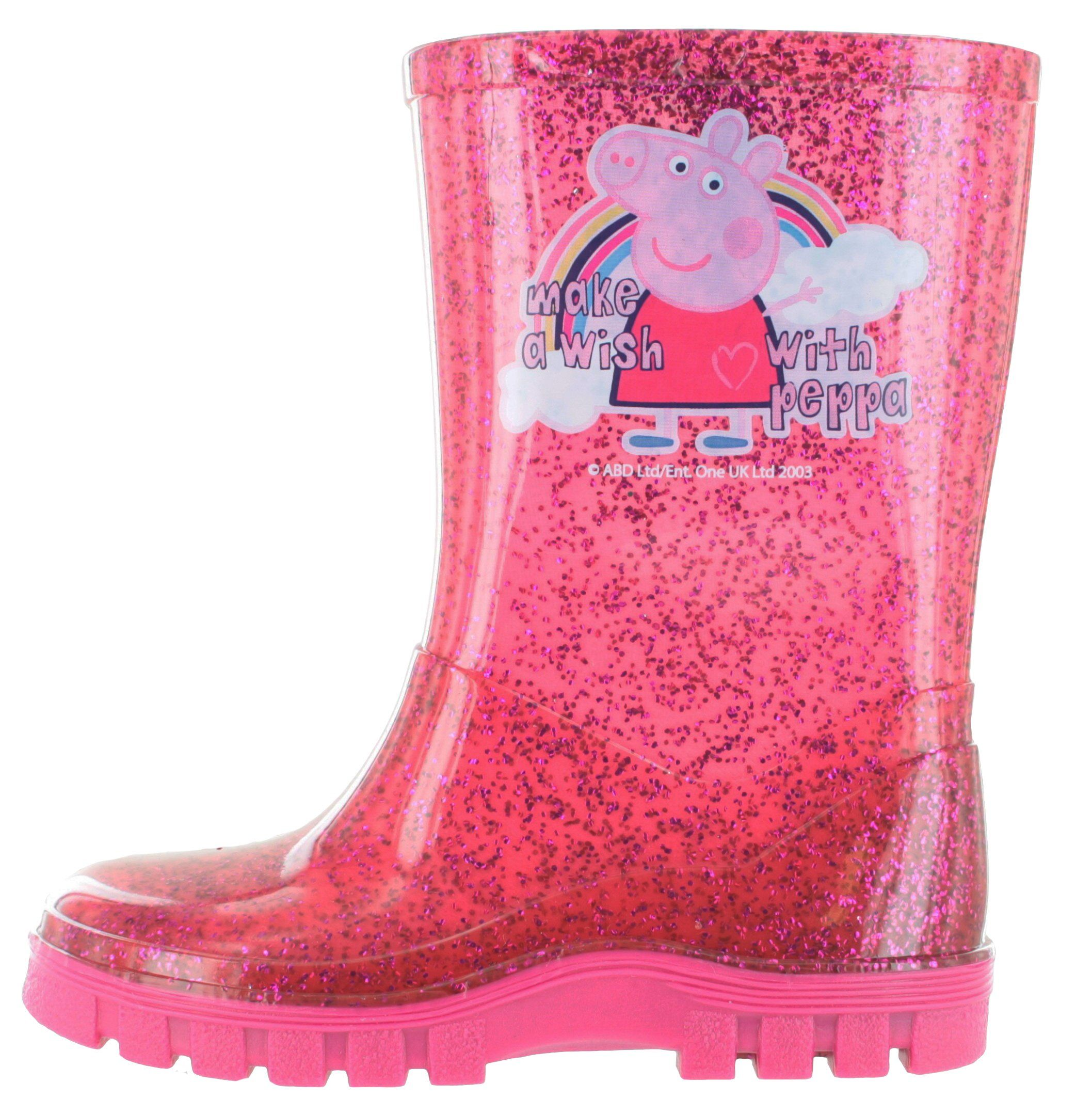 Explore Wellington Boot Peppa Pig and more Peppa Pig Glitter Pink