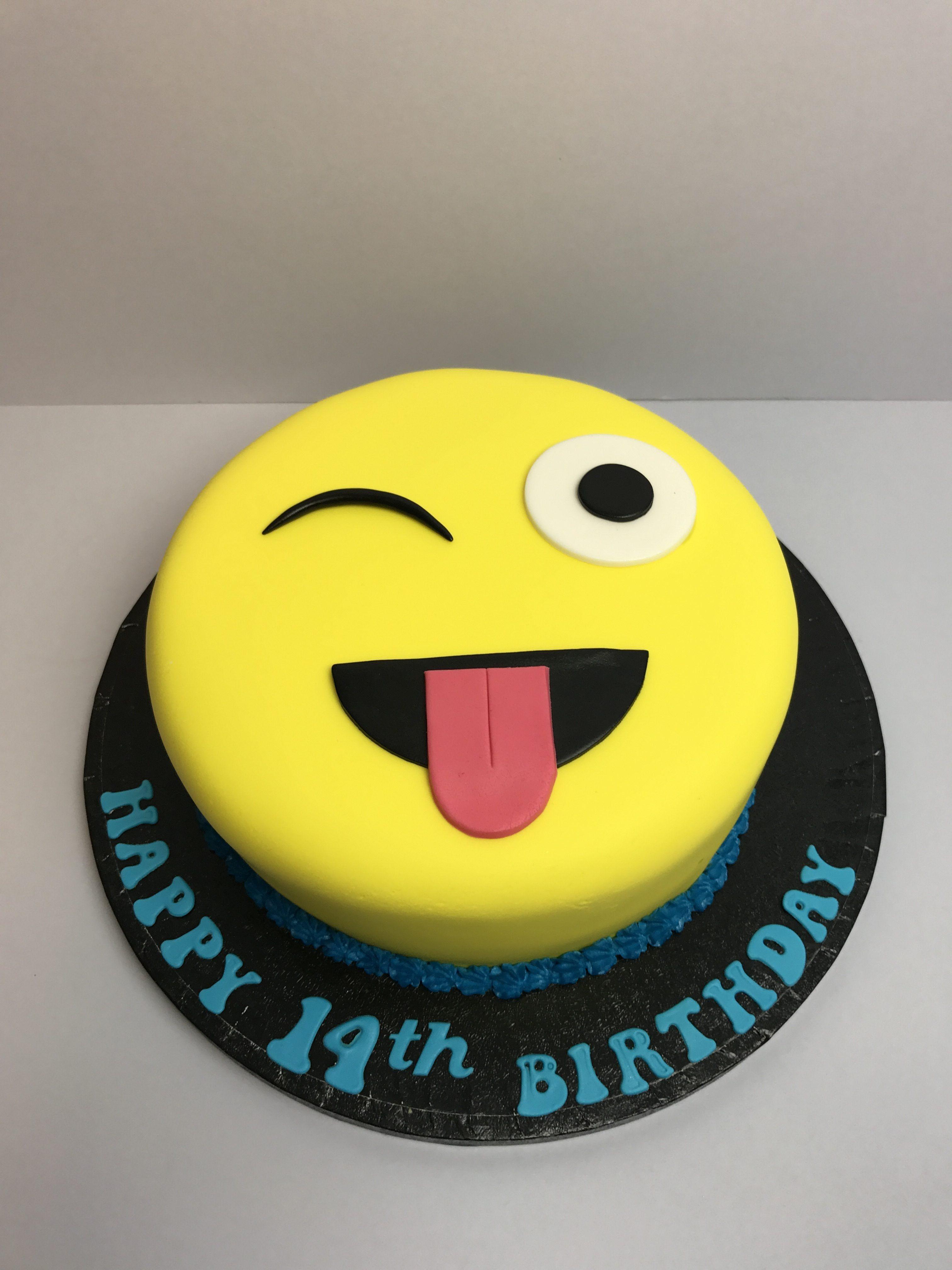 Emoji Cakes Birthday Cake Shop Handmade Cakes Designed Baked