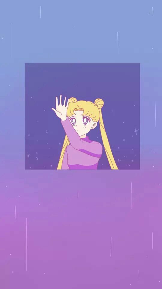 Strawberry Lemon Cream Sailor Moon Wallpaper Sailor Moon Aesthetic Cartoon Wallpaper