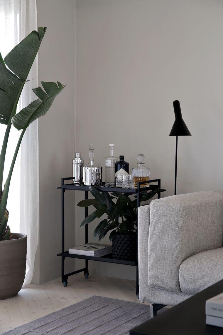 How To Style A Bar Cart Living Room Bar Home Living Room Interior