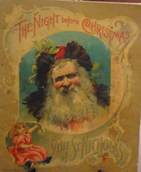 Original Night Before Christmas Cover Christmas Books Antique Christmas The Night Before Christmas