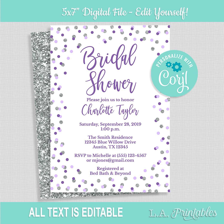 Silver Confetti Bridal Shower Games Bundle Instant Download Bridal Shower Games Package Silver Glitter Bridal Shower DIY Printable Files PDF
