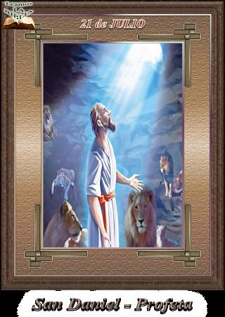 Leamos la BIBLIA: San Daniel – Profeta