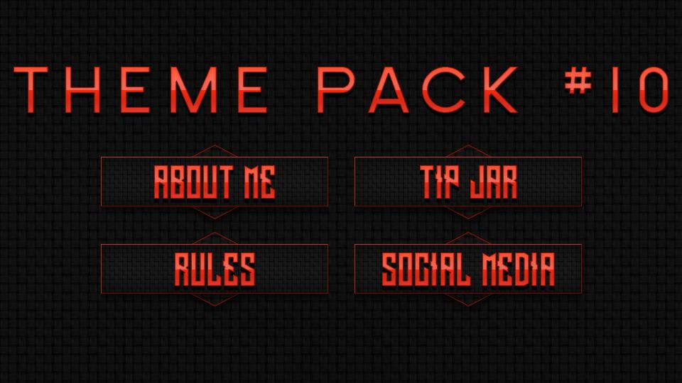 FREE Twitch Panel Theme Packs | njtyhmkujkmu | Overlays