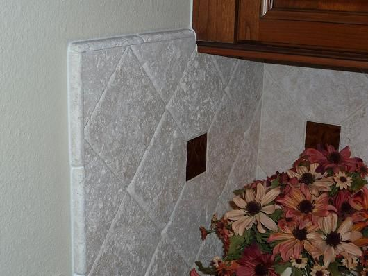 how to end tile backsplash google search for the home