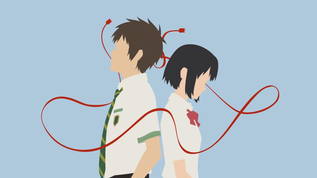 Mitsuha + Taki [2] (Your Name.) by ncoll36 on DeviantArt