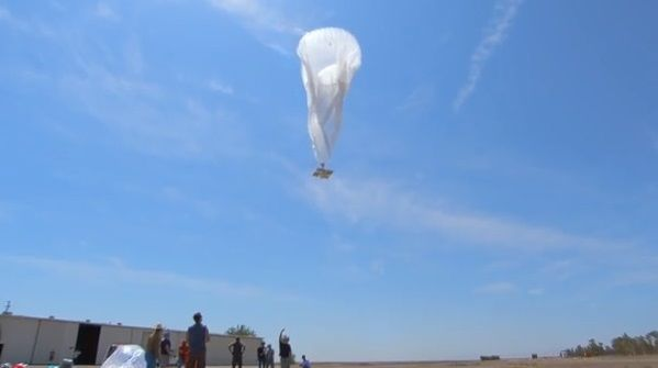 What is Google's Project loon and how does it work