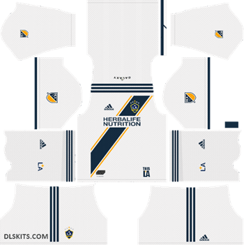 Dream League Soccer La Galaxy Kits 2019 Uniformes Soccer Futbol Vector La Galaxy