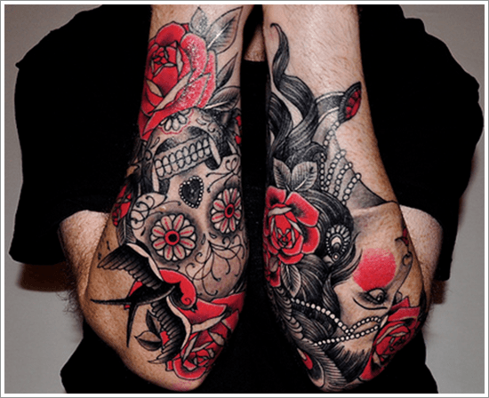 Rose And Thorn Sleeve Tattoo Rose Tattoos For Men Ideas And
