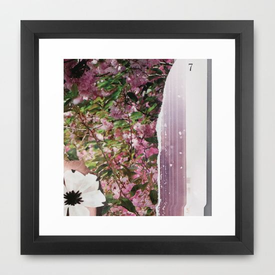 spring collage 5215 919 Framed Art Print