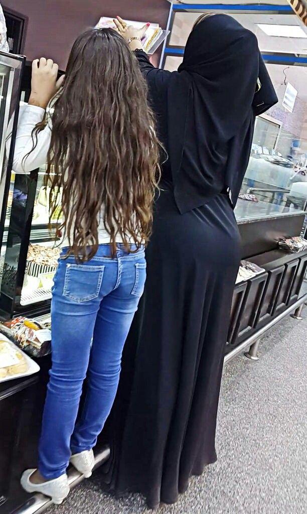 Hijab ass on street sy - 3 2