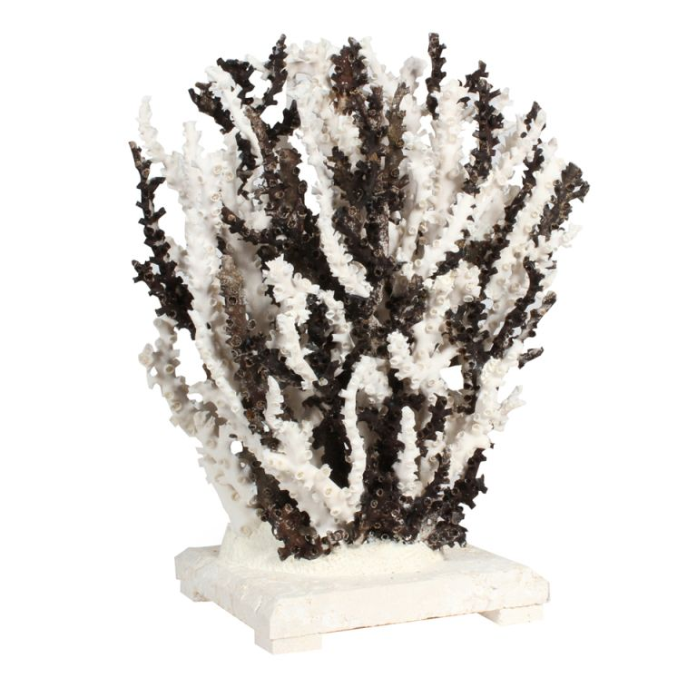 Charming Black And White Octopus Coral Centerpiece Or Sculpture