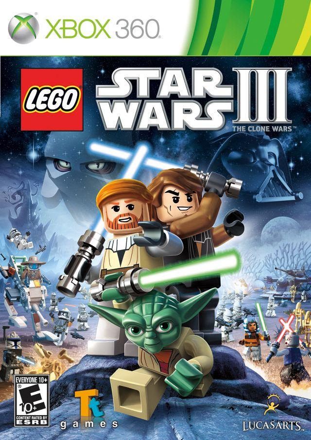 Lego Star Wars Iii The Clone Wars Box Shot For Xbox 360 Star Wars Wallpaper Lego Star Wars Lego War