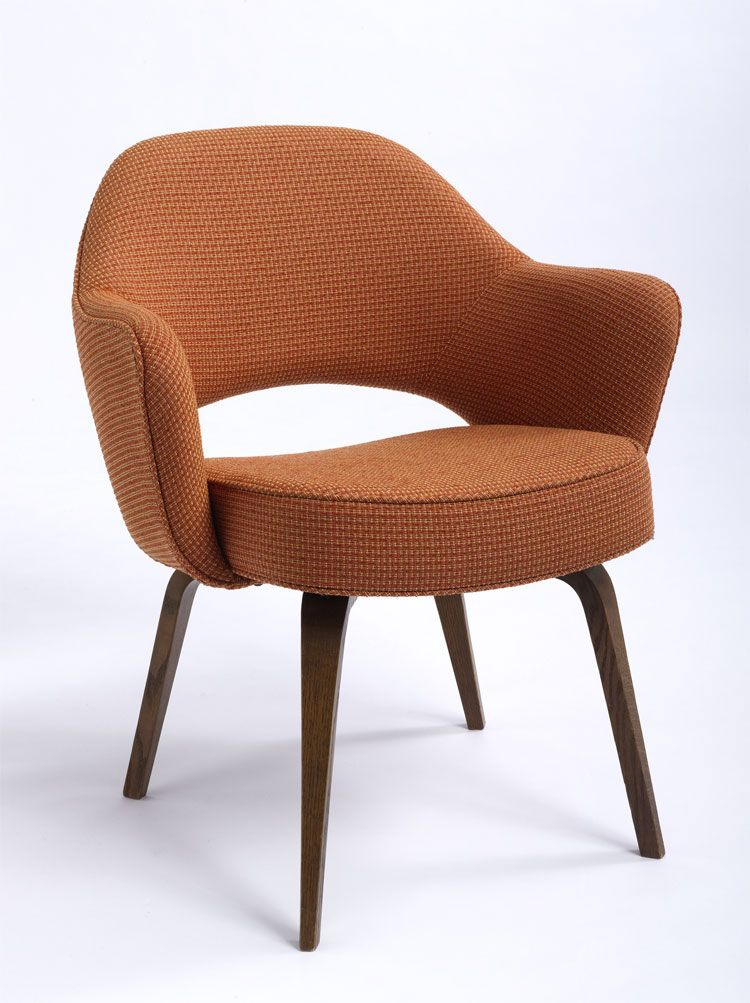 Saarinen Executive Arm Chair With Tubular Legs Saarinen Chair