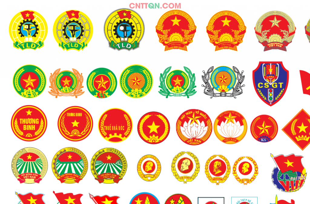 Sưu tập Vector logo khối nhà nước file CorelDRAW trong