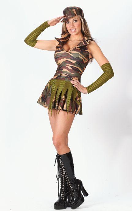 Sexy Halloween Costumes For Teenage Girls Fun World Sexy Camouflage Army Brat Teens Halloween Costume Junior