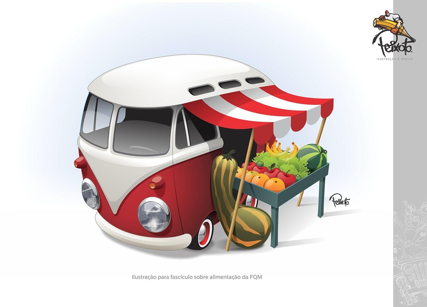 Kombi Quitanda Vw Bus c7aee8e33